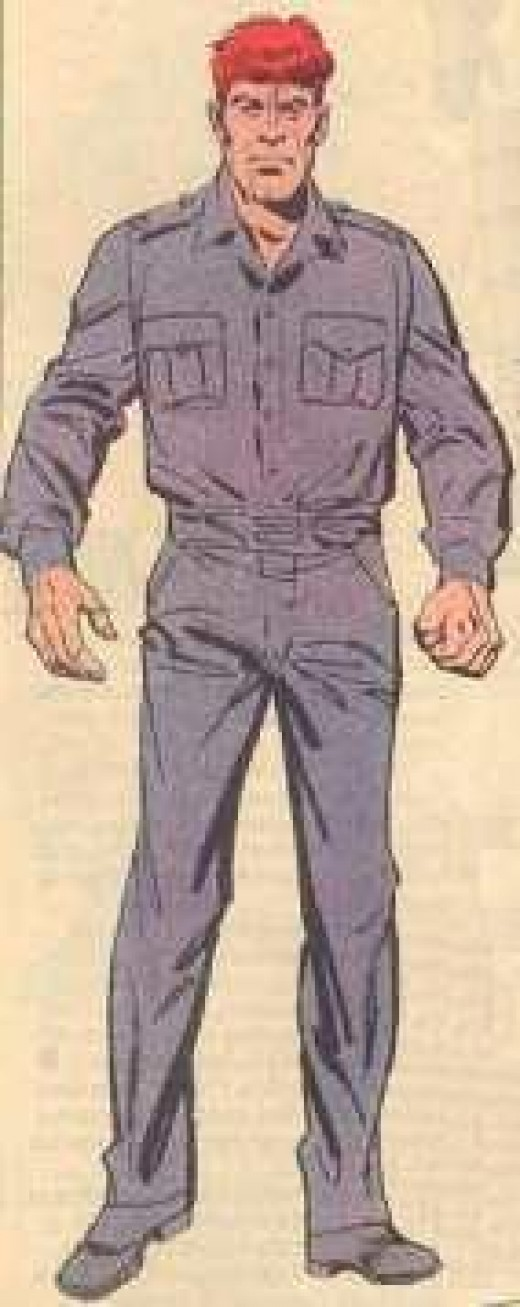 Alexi Luthor of Earth 2