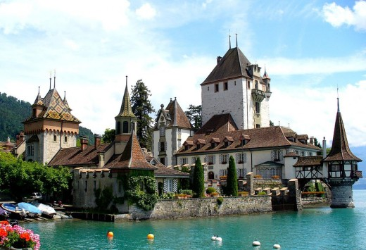 A jewel beside Switzerland's Lake Thun.