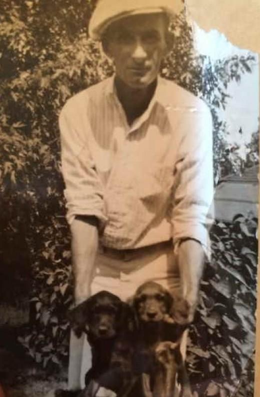 Paul Lionel Slaven (author's paternal grandfather)