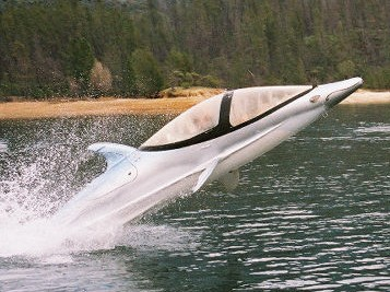 This dolphin shaped boat thing actualy makes far more sense then any of the technologies described in this article.