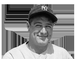 Baseball  legend, Lou Gehrig