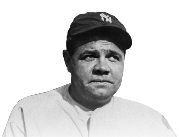 Legendary  Babe Ruth, the Bambino
