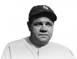Legendary  Babe Ruth, the Bambino