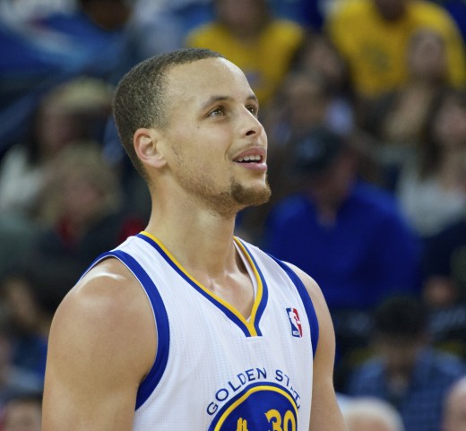 Photo of Stephen Curry.