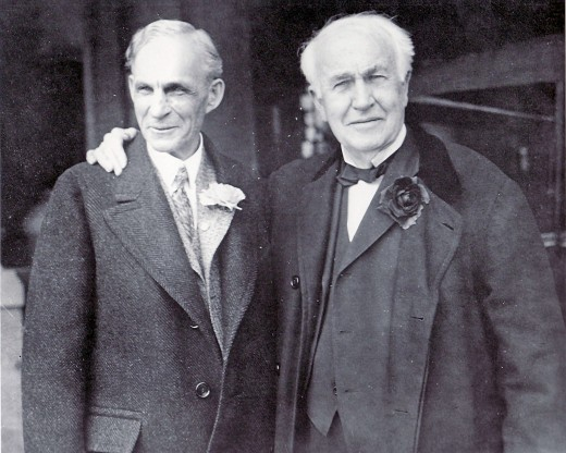 Henry Ford and Thomas Edison, great friends and industrialists made their homes in Fort Myers, Florida.