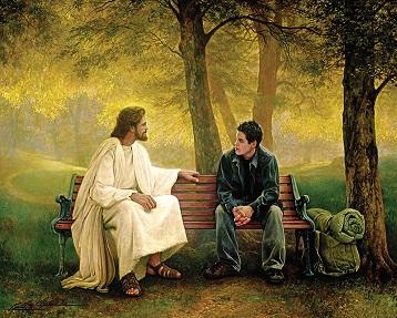 Jesus Discussing His Plans