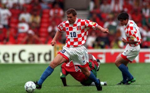 Croatia in 1996. The uniforms still sucked
