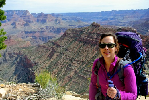 Wow you hiked the Grand Canyon? Gee, never seen this one before on facebook.....