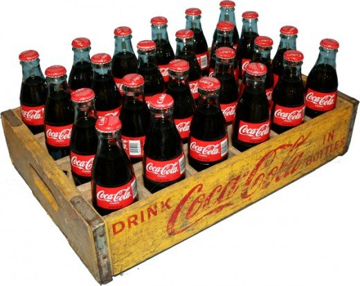 Coca Cola meant business. They started selling their product by the case
