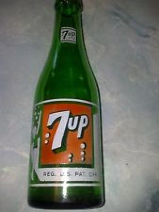 Original 7Up bottle