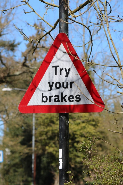 Braking while up the Steep of Success---a Bad Idea