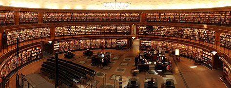A person could get lost in some libraries due to their size