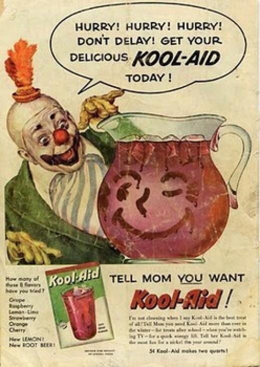 Vintage days of Kool-Aid Man
