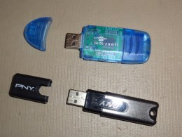 If you don't have too many large files to back up, then a flash drive may be sufficient.