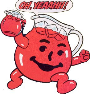 """Ohhh, yeeaaaah,"" Kool-Aid Man's patented cry meant that evil and thirst were soon to be history"