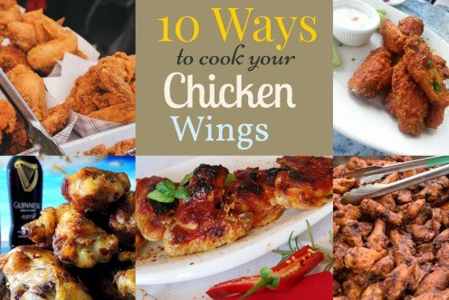 10 Easy Ways To Cook Fabulous Chicken Wings Hubpages