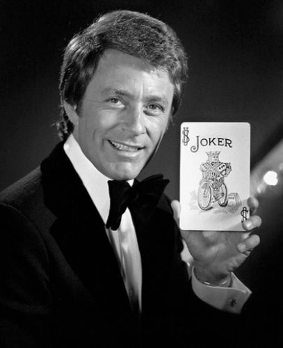 Bill in a publicity shot from his series The Magician.