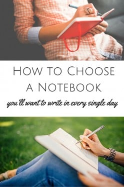 Choosing a Journal Notebook