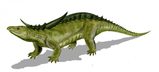 Desmatosuchus Dinosaur Reconstruction By Nobu Tamur GNU 1.2