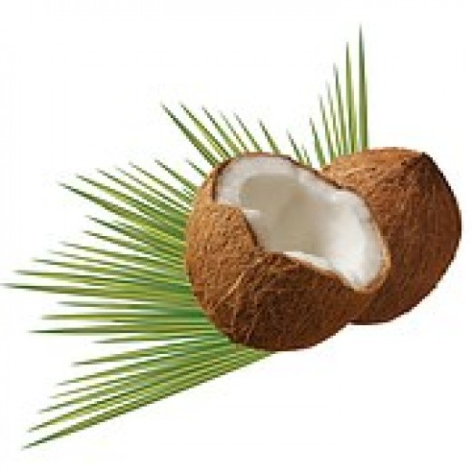 Coconut oil is full of nutrients and fatty acids to keep the skin soft and glowing