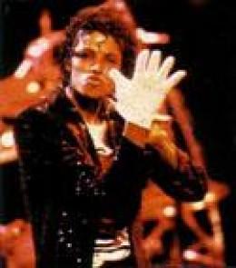 Michael Jackson's famous white glove