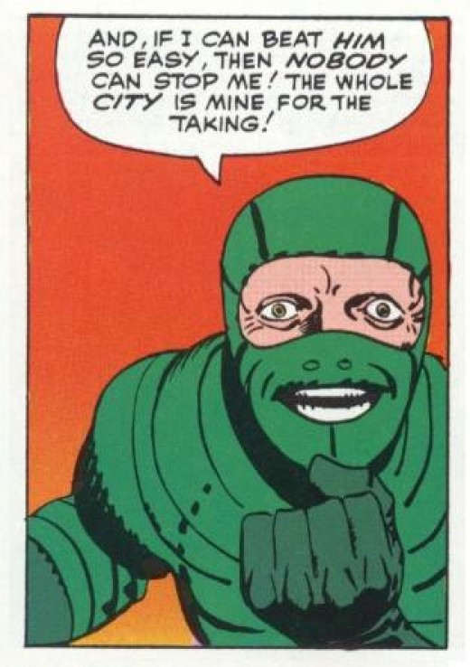 Mac Gargan as The Scorpion