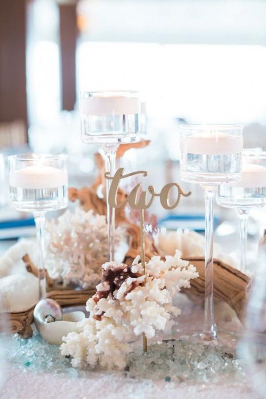 3 Easy DIY Beach Wedding Centerpiece Ideas