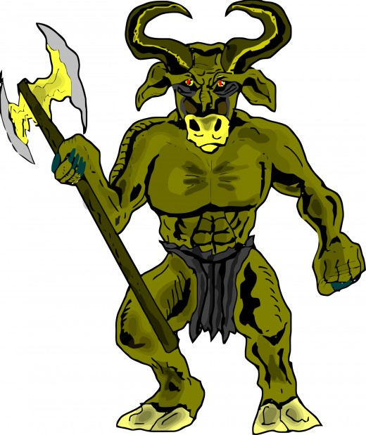 The Minotaur is nowadays a staple in many video games.