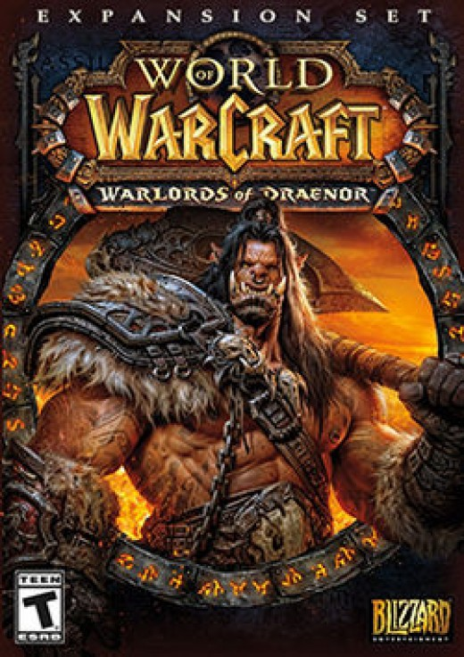 Cover art for Warlords of Draenor.