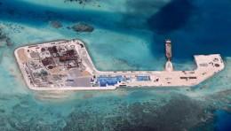 Built up atolls