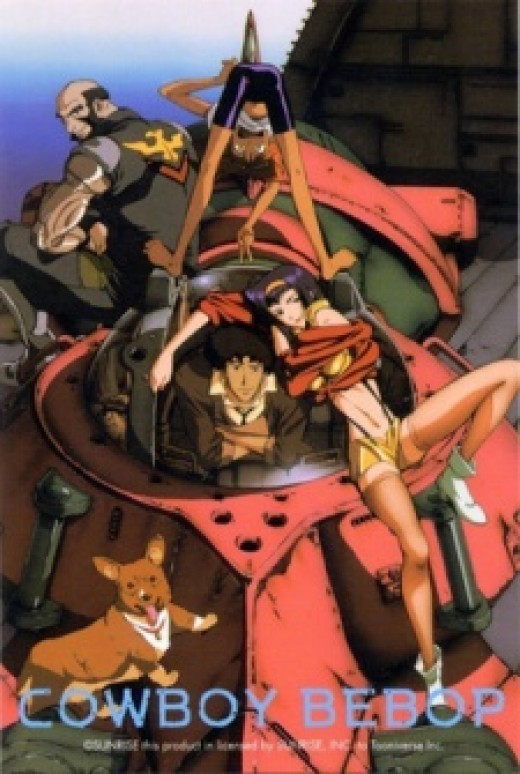 "Source: myanimelist.net - Cowboy Bebop is more commonly known as a ""Space Western"""