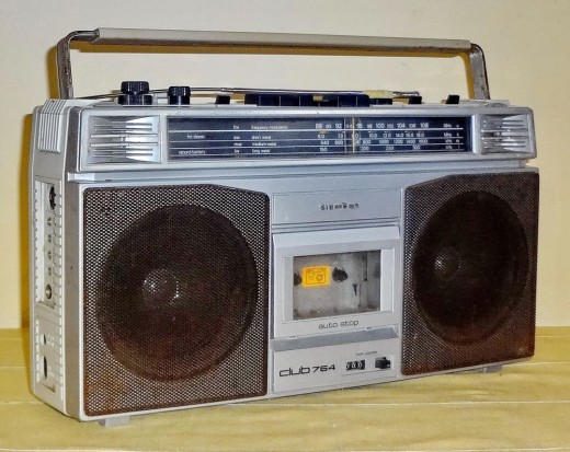 Boomboxes, MP-3s and car radios help commercial radio to reach out to people everywhere.