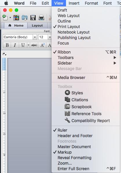 View Menu - Toolbars - Customize Toolbars