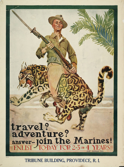 1920 recruiting poster by James Montgomery Flagg
