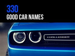 330 Good Car Names