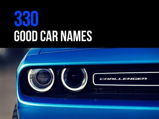 330 good car names axleaddict