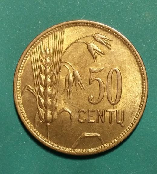 50 CentuKM75Y51925Obv