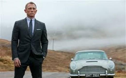 Daniel Craig as 007 (and that beautiful DB5)