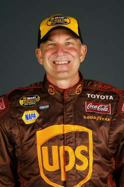 Dale Jarrett, retired  NASCAR driver, son  of legendary dirt track  driver Ned Jarrett