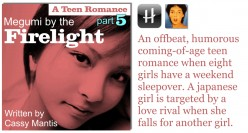 Megumi by the firelight - A Teen Romance, Part 5