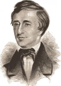 "Henry David Thoreau's ""Ah, 'tis in vain the peaceful din"""