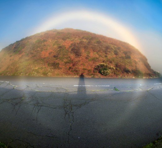 360 degrees Fog bow