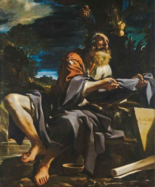 Elijah Fed by the Ravens, Il Guercino, Giovanni Francesco Barbieri, (1591-1666)