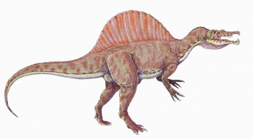 Spinosaurus Dinosaur BY Leogorgon CC BY-SA 4.0
