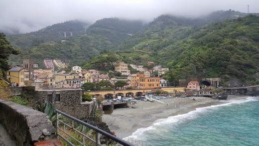 Monterosso seaside