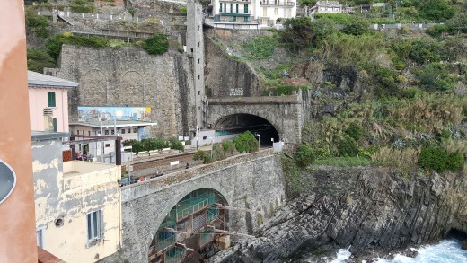 Riomaggiore train station