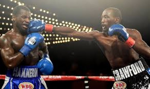 Terrance Crawford easily outboxed and out fought Hank Lundy before knocking him out.