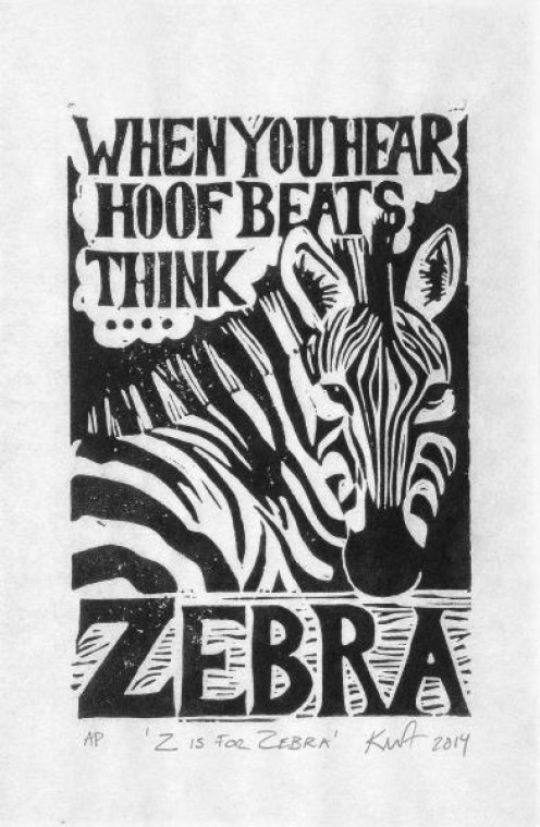 This was a popular graphic to raise awareness about protecting the zebra