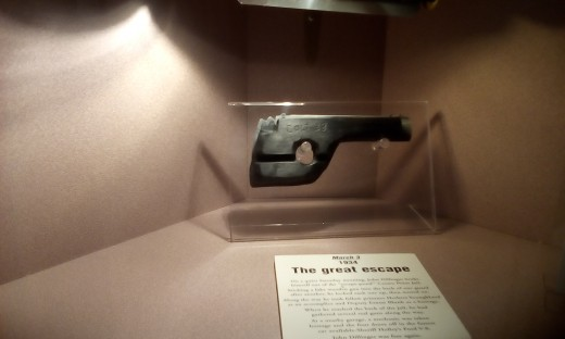 Fake Gun Used By Dillinger