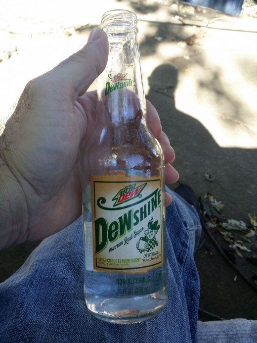 Before I quit drinking Mountain Dew I had started trying some of their specialty drinks like Dewshine.